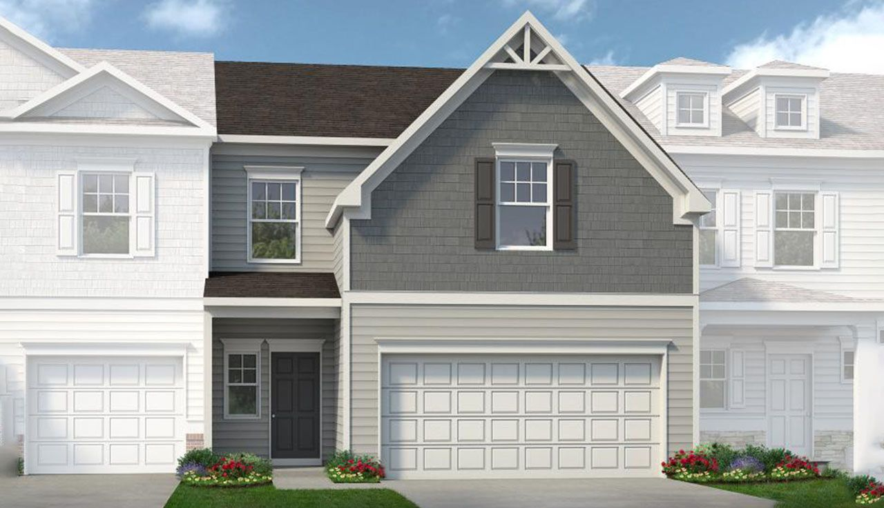 Exterior featured in The Jasper By Smith Douglas Homes in Nashville, TN