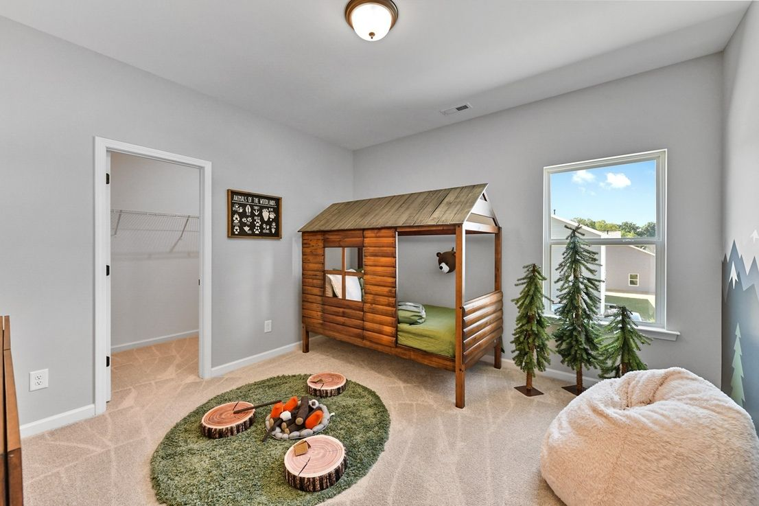 Bedroom featured in The Ellijay By Smith Douglas Homes in Huntsville, AL