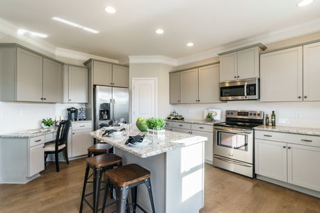 Kitchen-in-The McPherson-at-River Park-in-Mount Holly