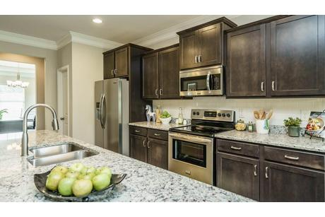 Kitchen-in-The Madison-at-Creekside Village-in-Hoschton