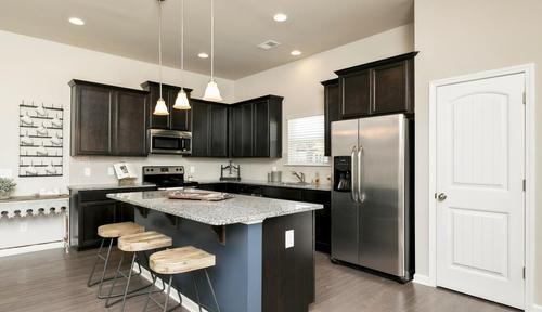 Kitchen-in-The Bayfield-at-The Stiles-in-Cartersville