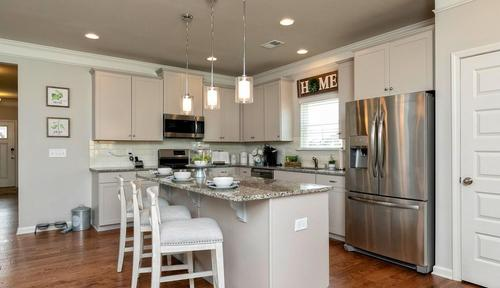 Kitchen-in-The Bayfield-at-Escalades-in-Mableton