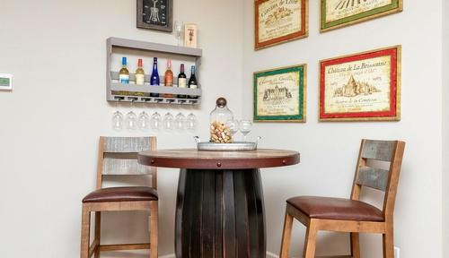 Wet-Bar-in-The Bayfield with Bonus-at-Woody Farms-in-Adairsville