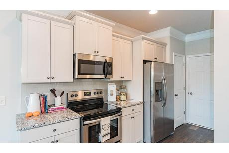 Kitchen-in-The Lathem-at-Abbington Woods-in-Belmont