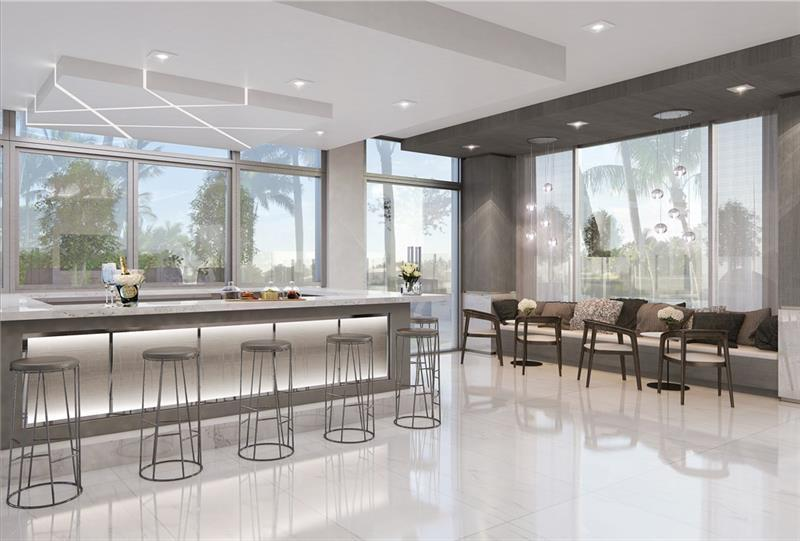 Living Area featured in The Pacific (Unit B) By Sobel Co in Broward County-Ft. Lauderdale, FL