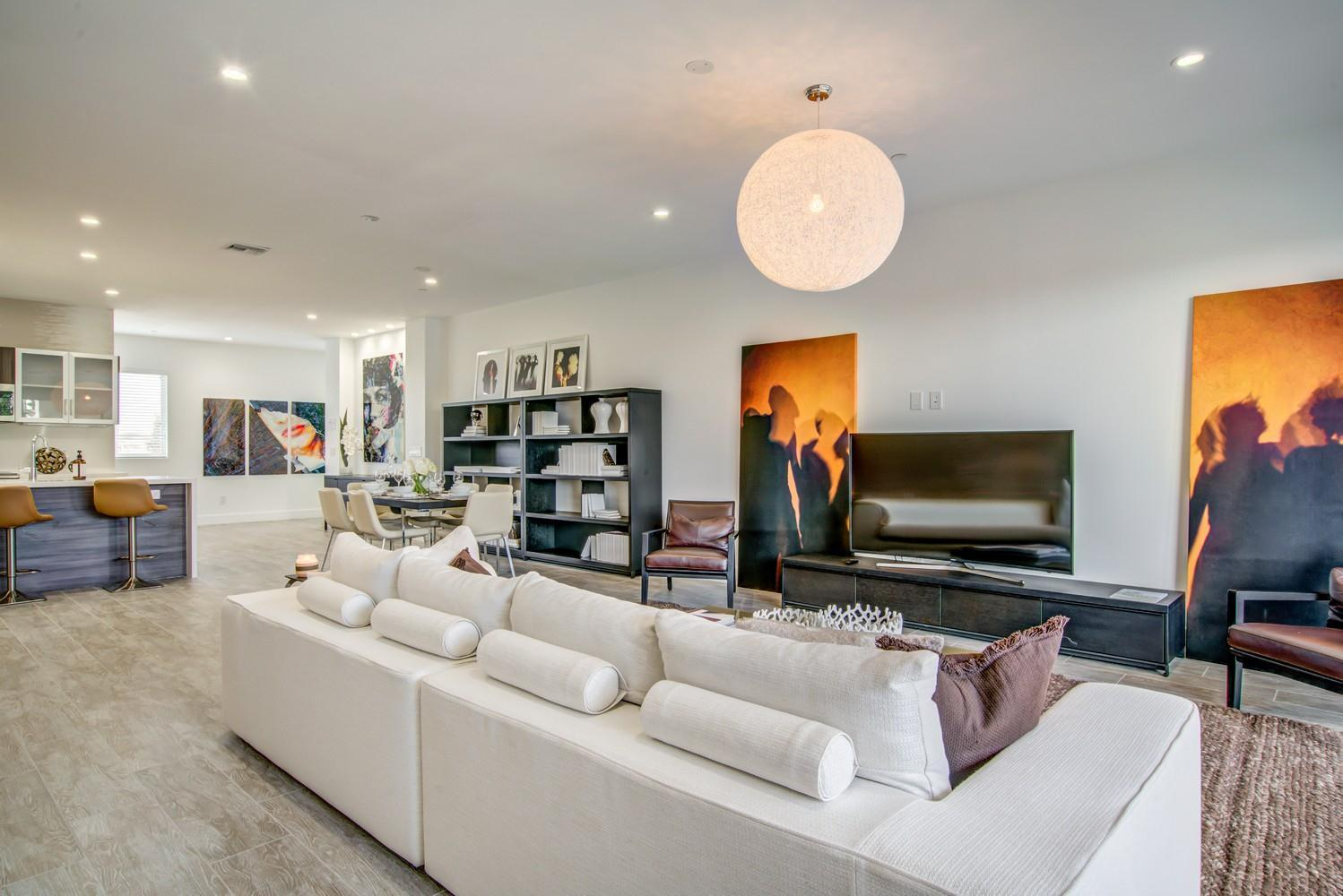 Living Area featured in the Model A - East By Sobel Co in Broward County-Ft. Lauderdale, FL