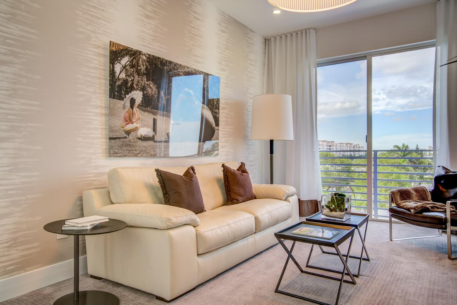 Living Area featured in the Model C - West By Sobel Co in Broward County-Ft. Lauderdale, FL