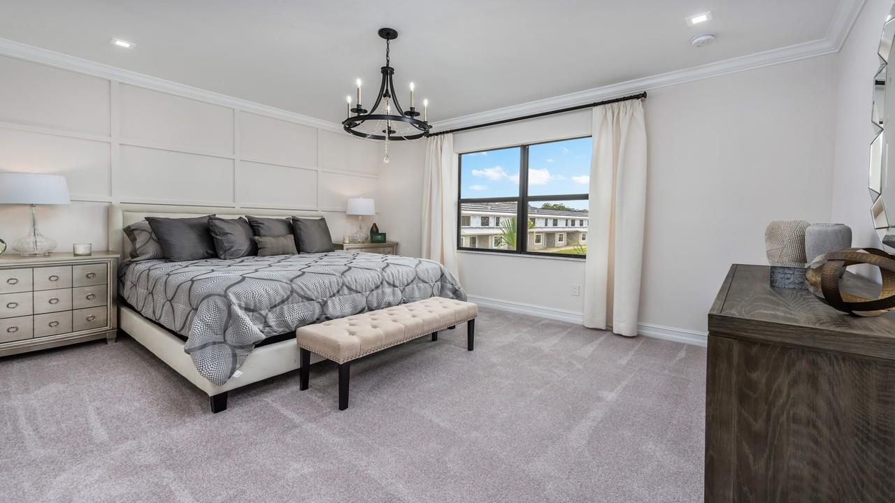 Bedroom featured in the Breakers By Sobel Co in Naples, FL