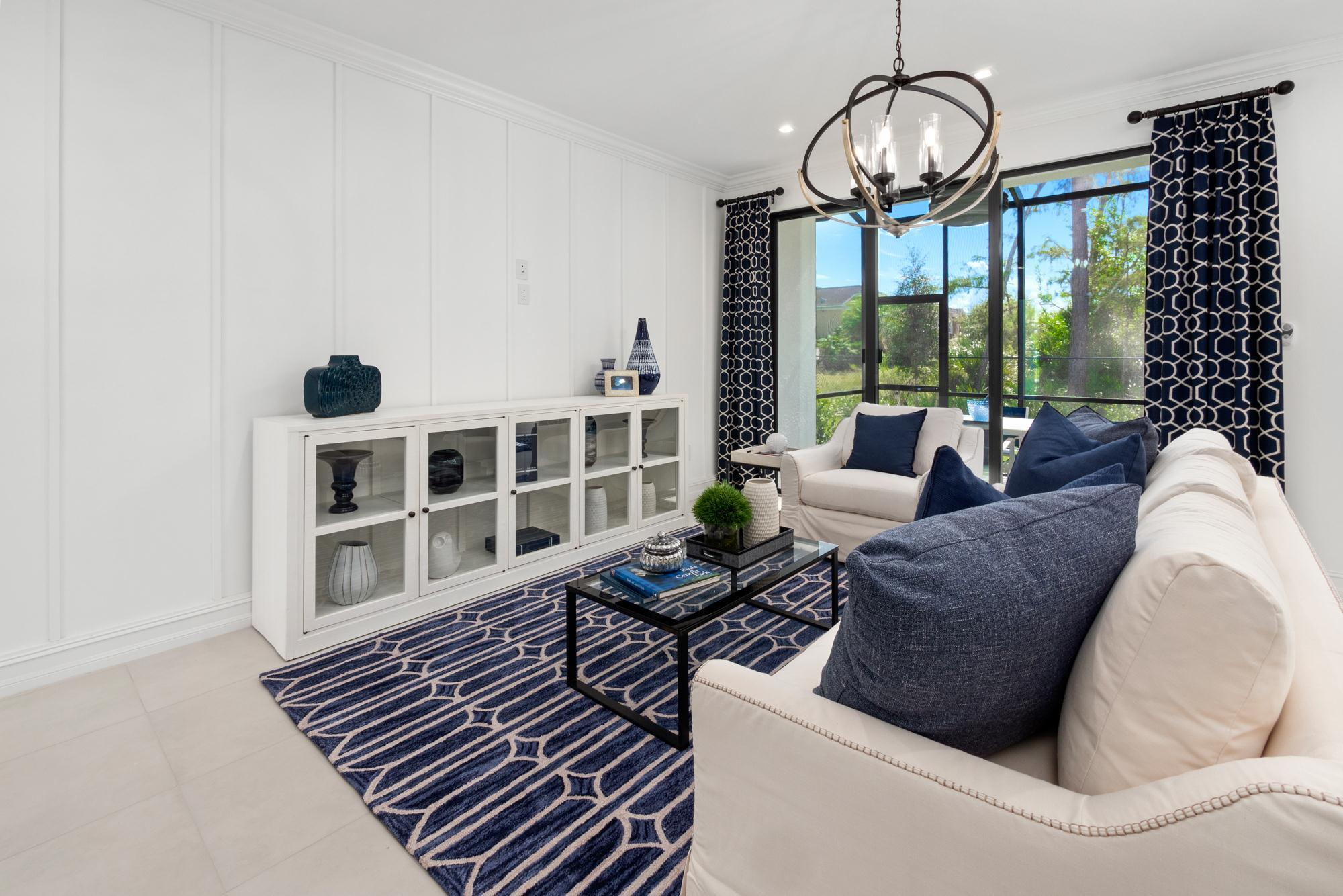 Living Area featured in the Stanford By Sobel Co in Naples, FL