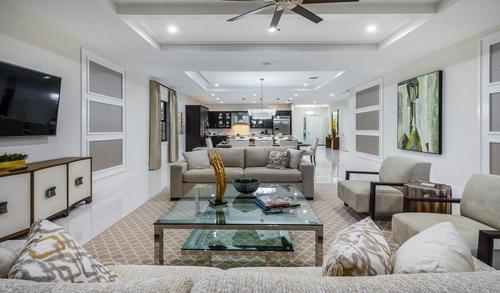 Greatroom-and-Dining-in-Cayman-at-Residences at Banyan Cay-in-West Palm Beach