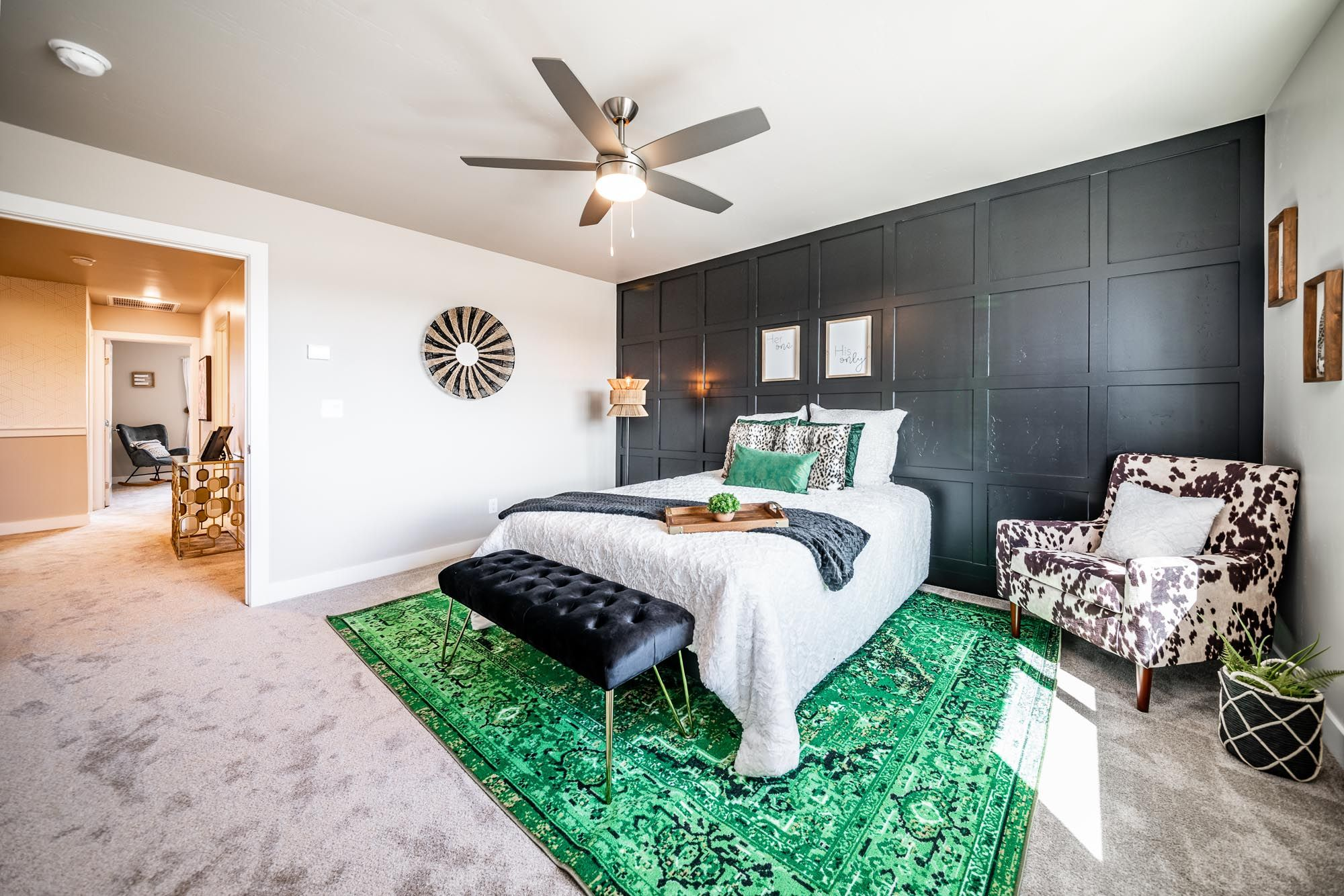 Bedroom featured in the Plan 1 By Solid Homes in Flagstaff, AZ