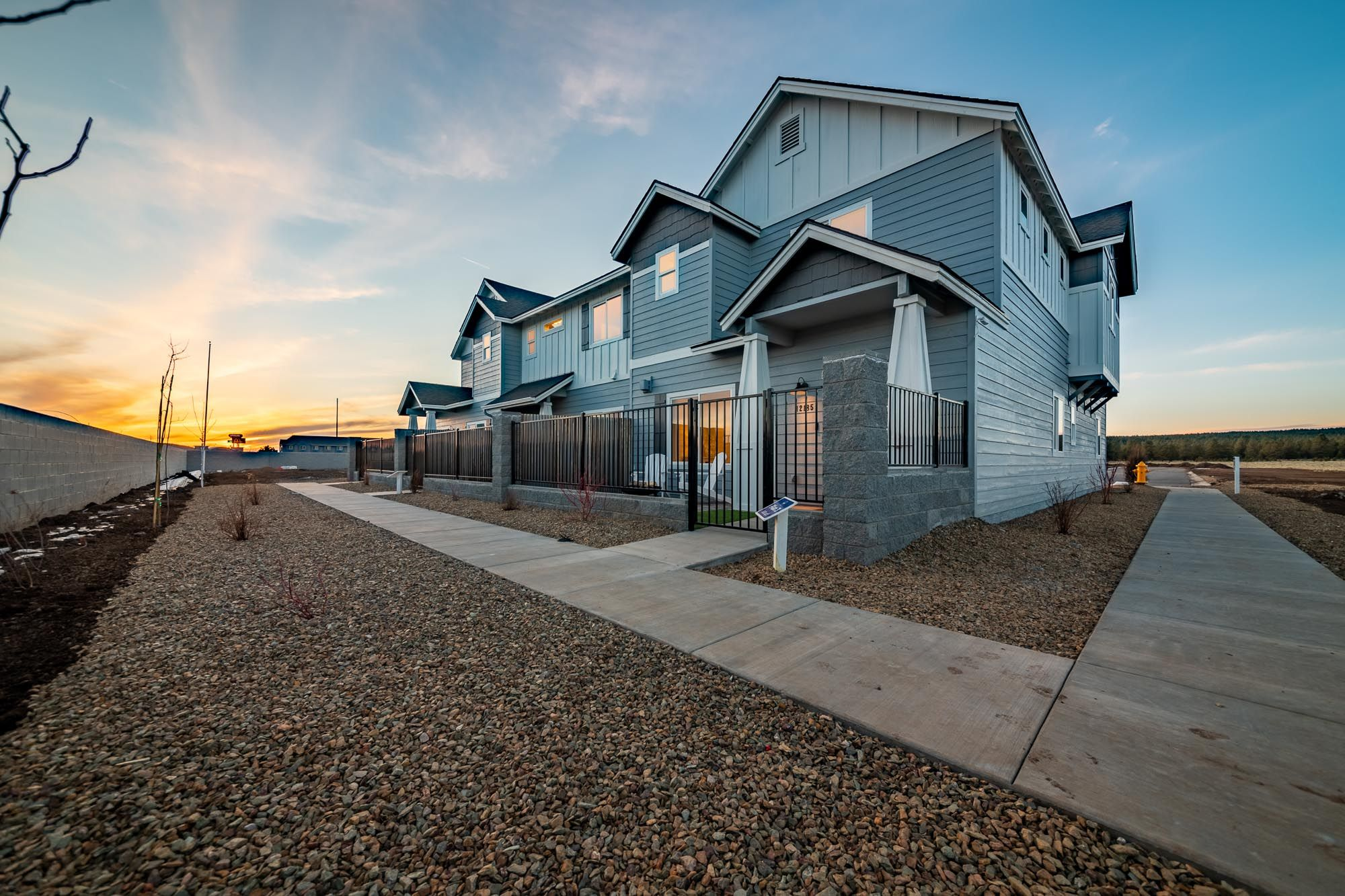 Exterior featured in the Plan 1 By Solid Homes in Flagstaff, AZ
