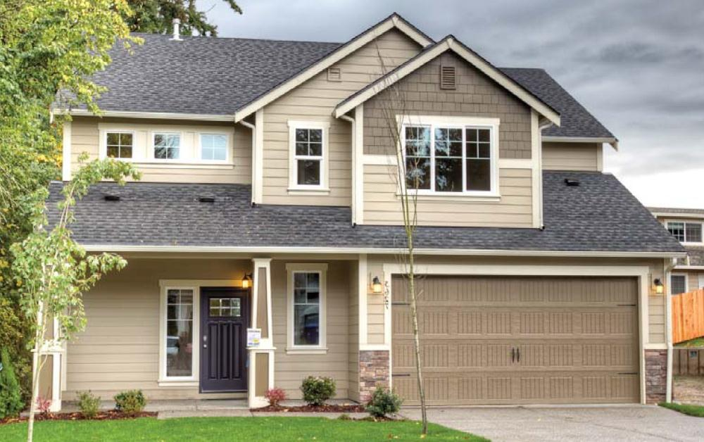 Exterior featured in The Teton By Soundbuilt Homes in Seattle-Bellevue, WA