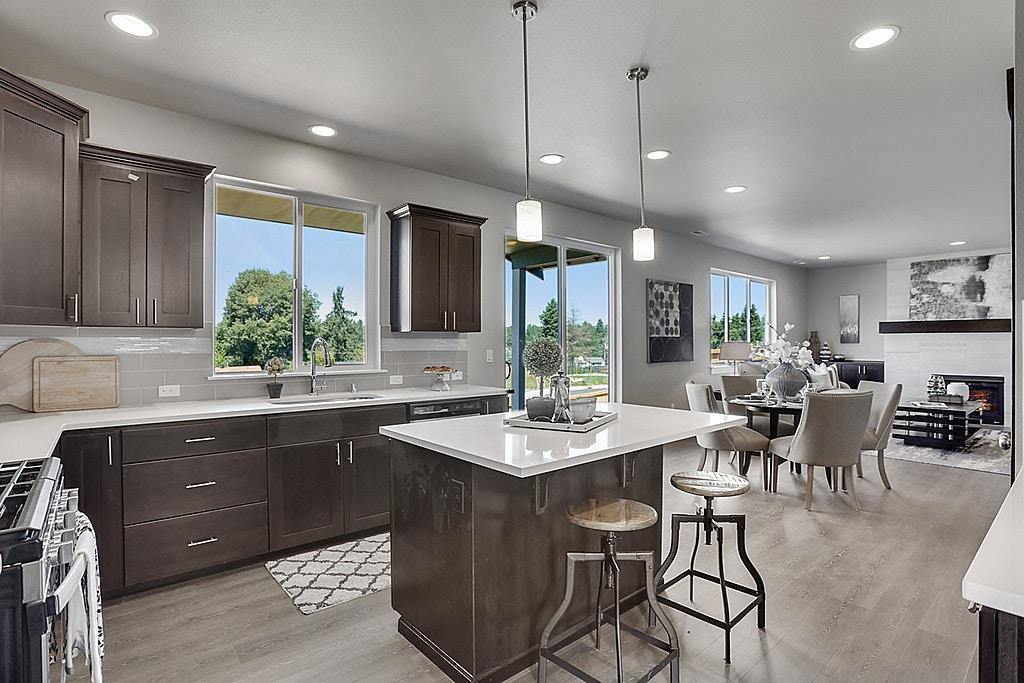 Kitchen featured in The Teton By Soundbuilt Homes in Tacoma, WA