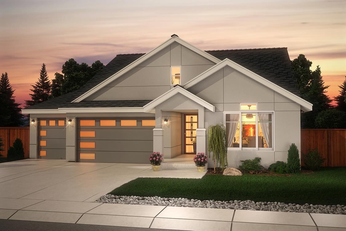 Exterior featured in The Ainsworth By Soundbuilt Homes in Tacoma, WA