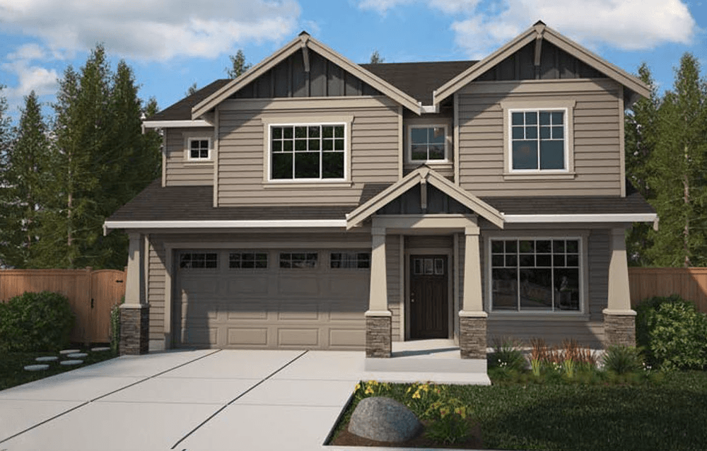 Exterior featured in The Tresco By Soundbuilt Homes in Seattle-Bellevue, WA