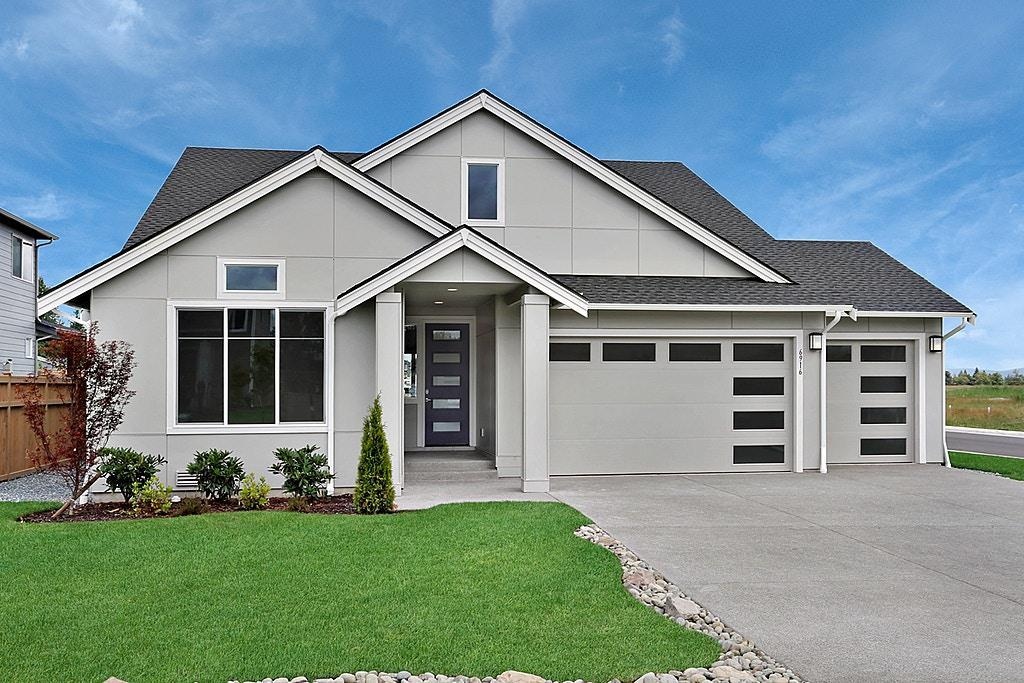 Exterior featured in The Ainsworth Rambler By Soundbuilt Homes in Tacoma, WA