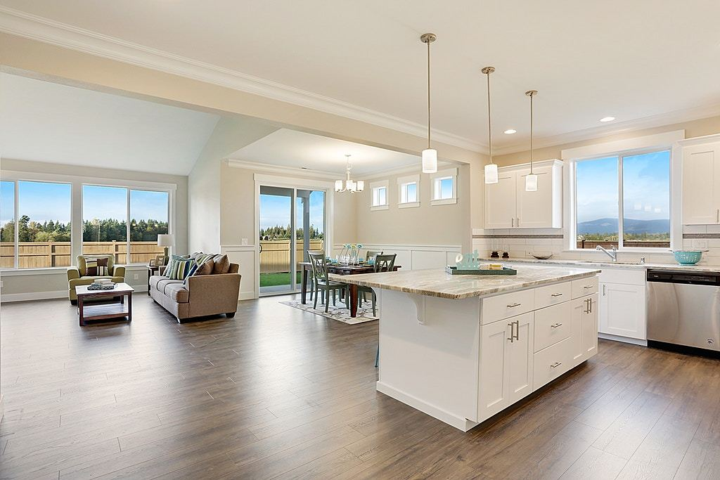 Kitchen featured in The Ainsworth Rambler By Soundbuilt Homes in Tacoma, WA