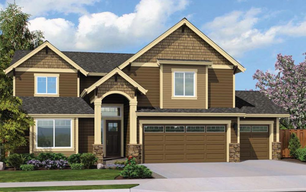 Exterior featured in the Sterling By Soundbuilt Homes in Tacoma, WA