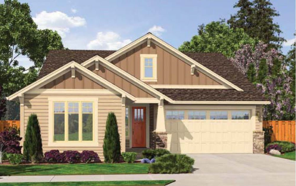 Exterior featured in the Camden By Soundbuilt Homes in Tacoma, WA