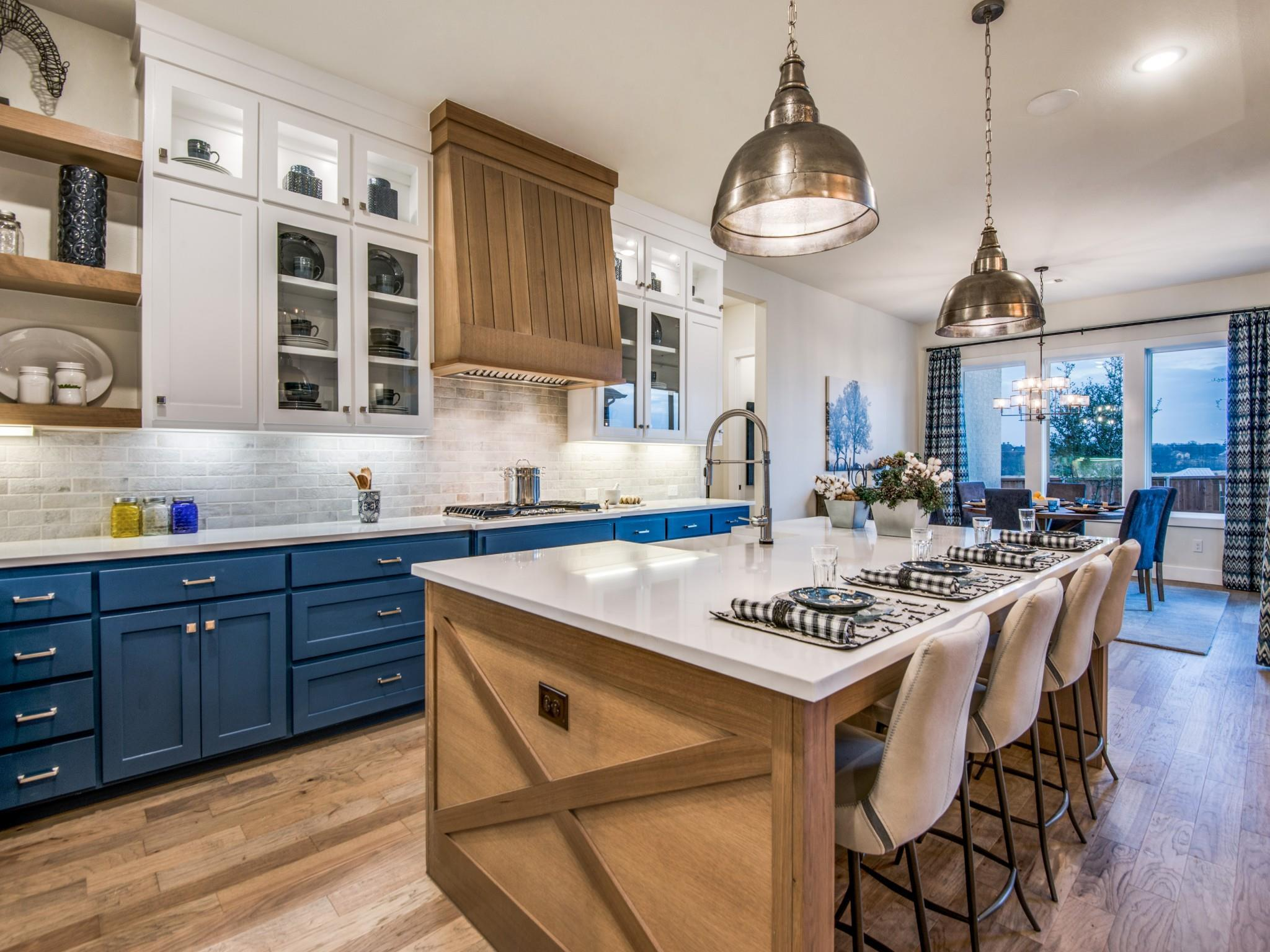 Kitchen featured in The Fredericksburg | 70103.1 By Southgate Homes in Dallas, TX