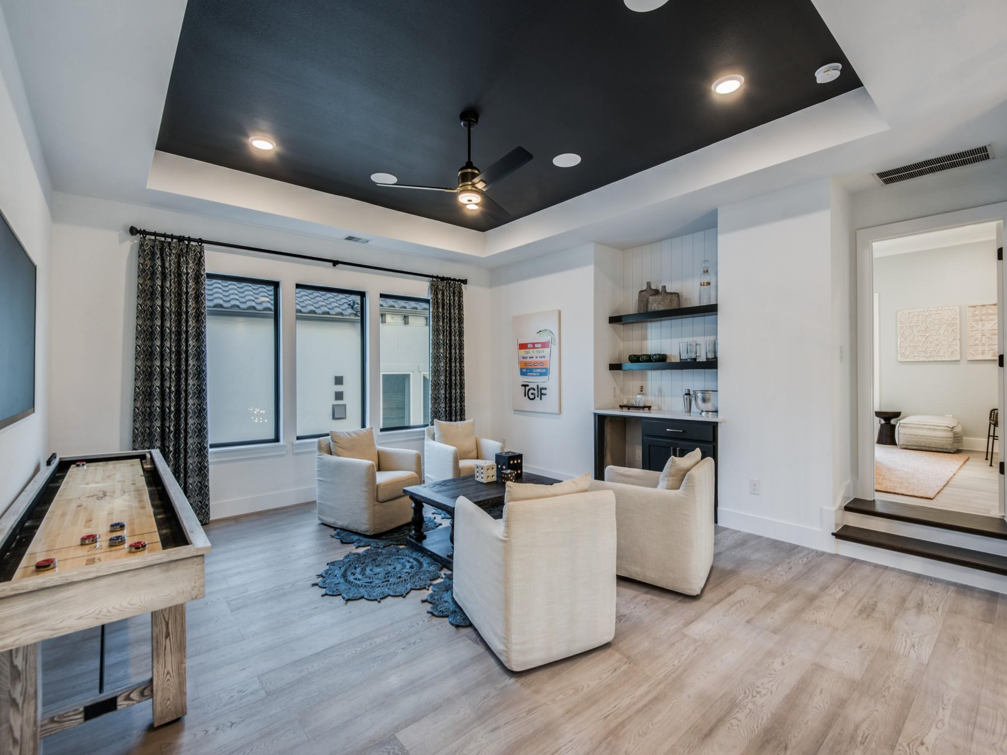 Living Area featured in The Geneva II | 40208.1 By Southgate Homes in Dallas, TX
