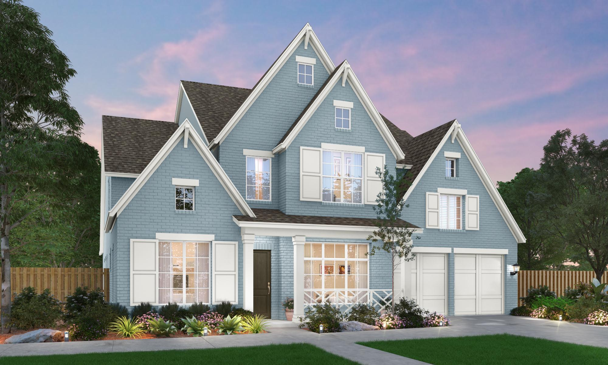 Exterior featured in The Madison | 50217 By Southgate Homes in Dallas, TX