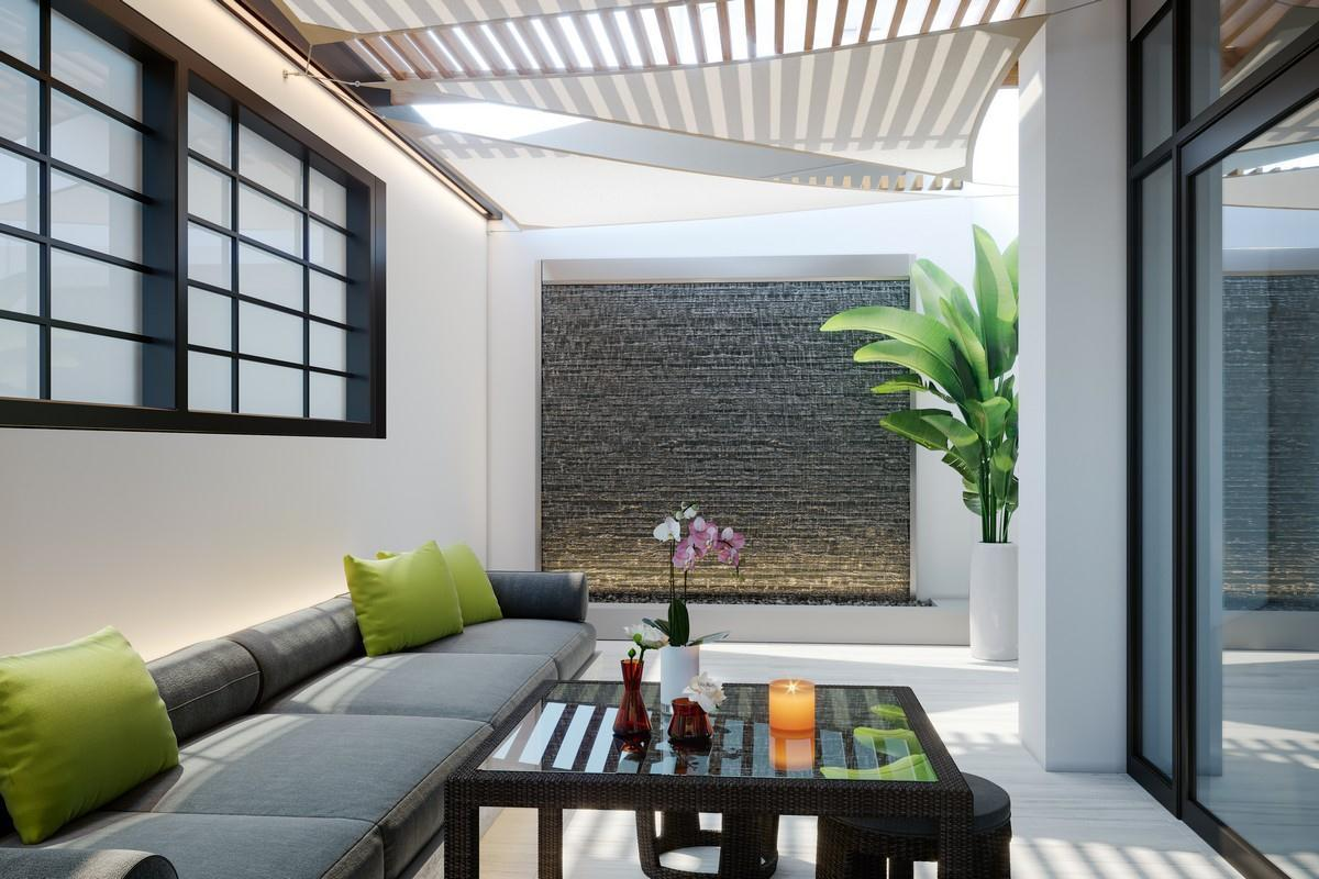 Living Area featured in the Garden Collection B By FEM South BEACH Urban Renewal
