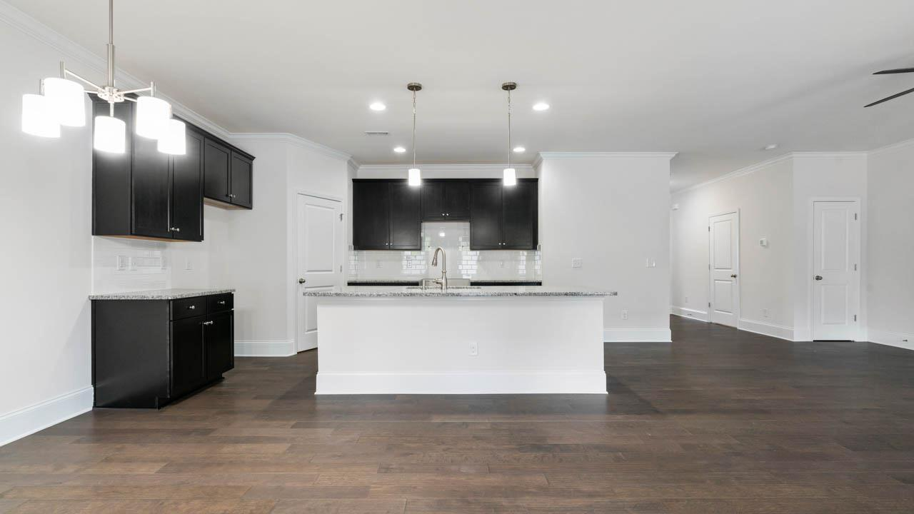 Kitchen featured in The Villa - With Individual Elevator By SouthCraft Builders in Charlotte, NC