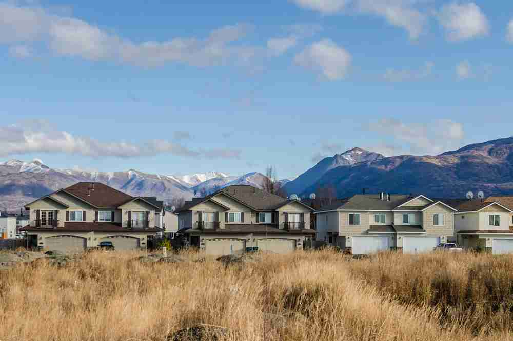 Views of the Chugach Mountains