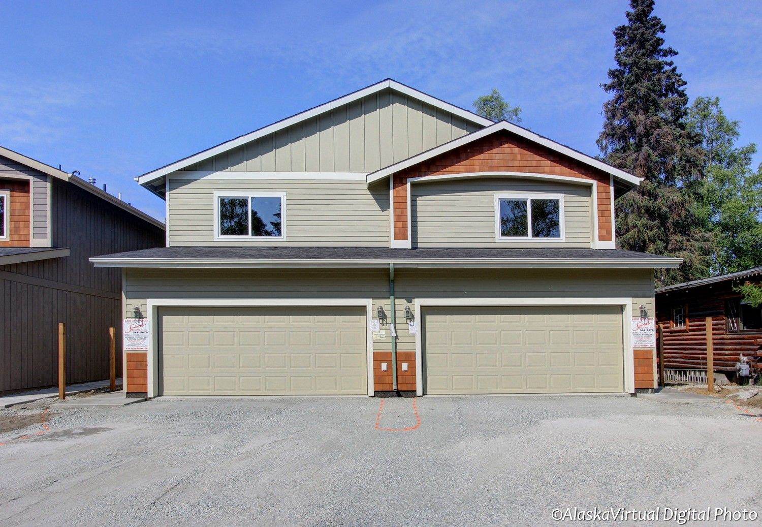Exterior featured in the Blackstone 1450 By Spinell Homes in Anchorage, AK