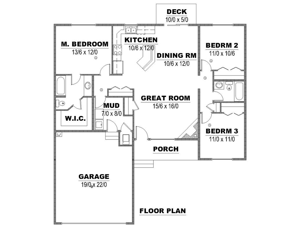 Tumbleweed Floor Plan