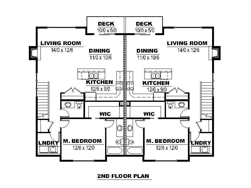 Duplex Second Floor