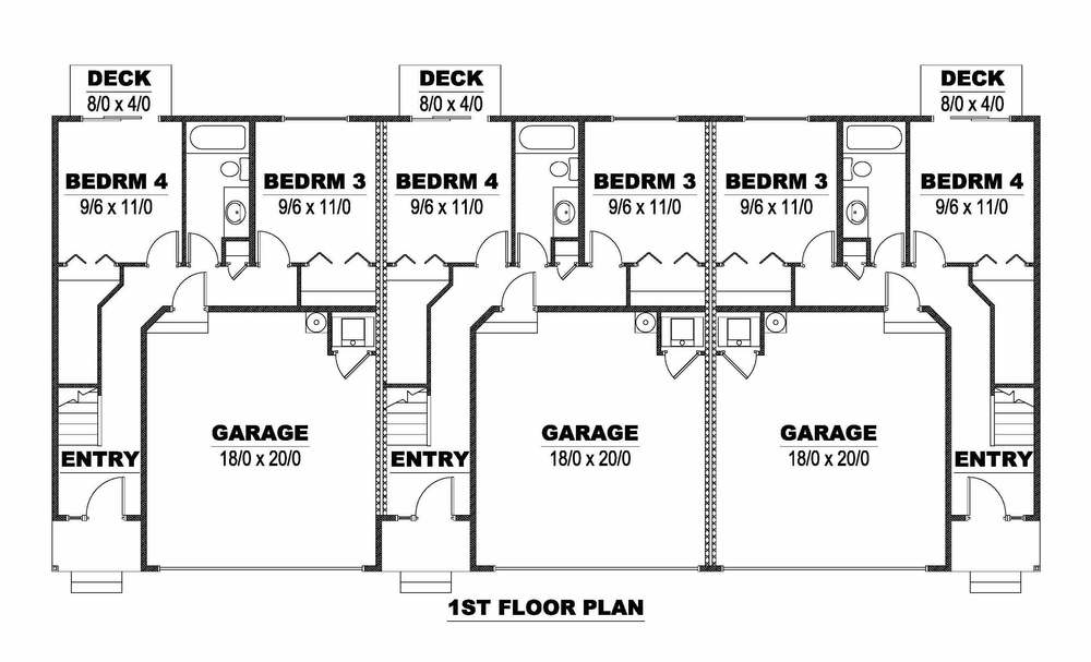 Triplex First Floor
