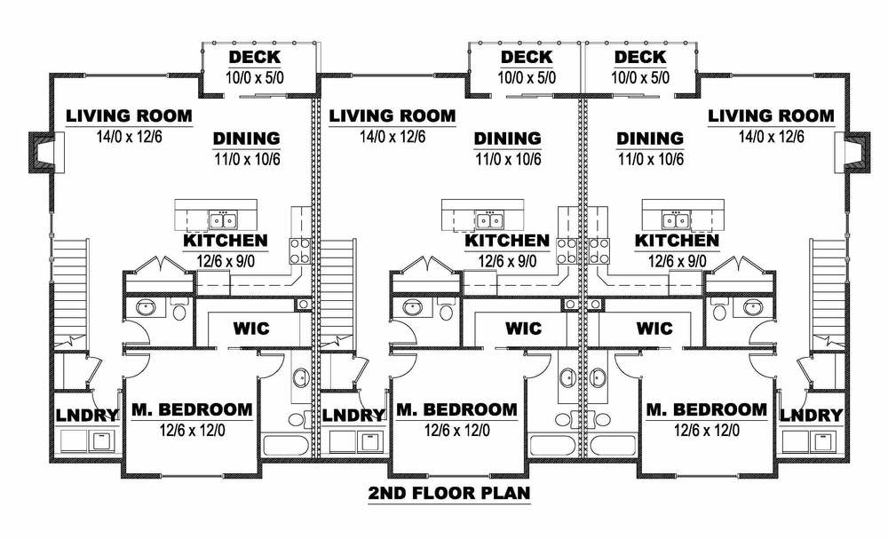 Triplex Second Floor