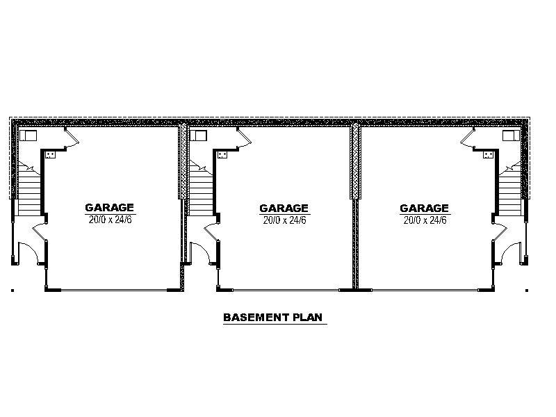 Triplex Basement