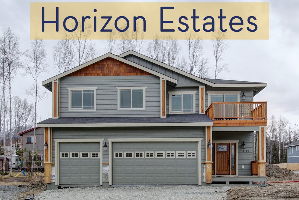 Horizon Estates In Wasilla Ak By Spinell Homes