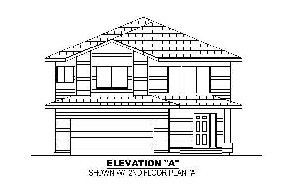 Front Elevation A