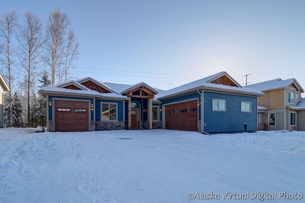 Exterior featured in the Sagebrush 1834 By Spinell Homes in Anchorage, AK