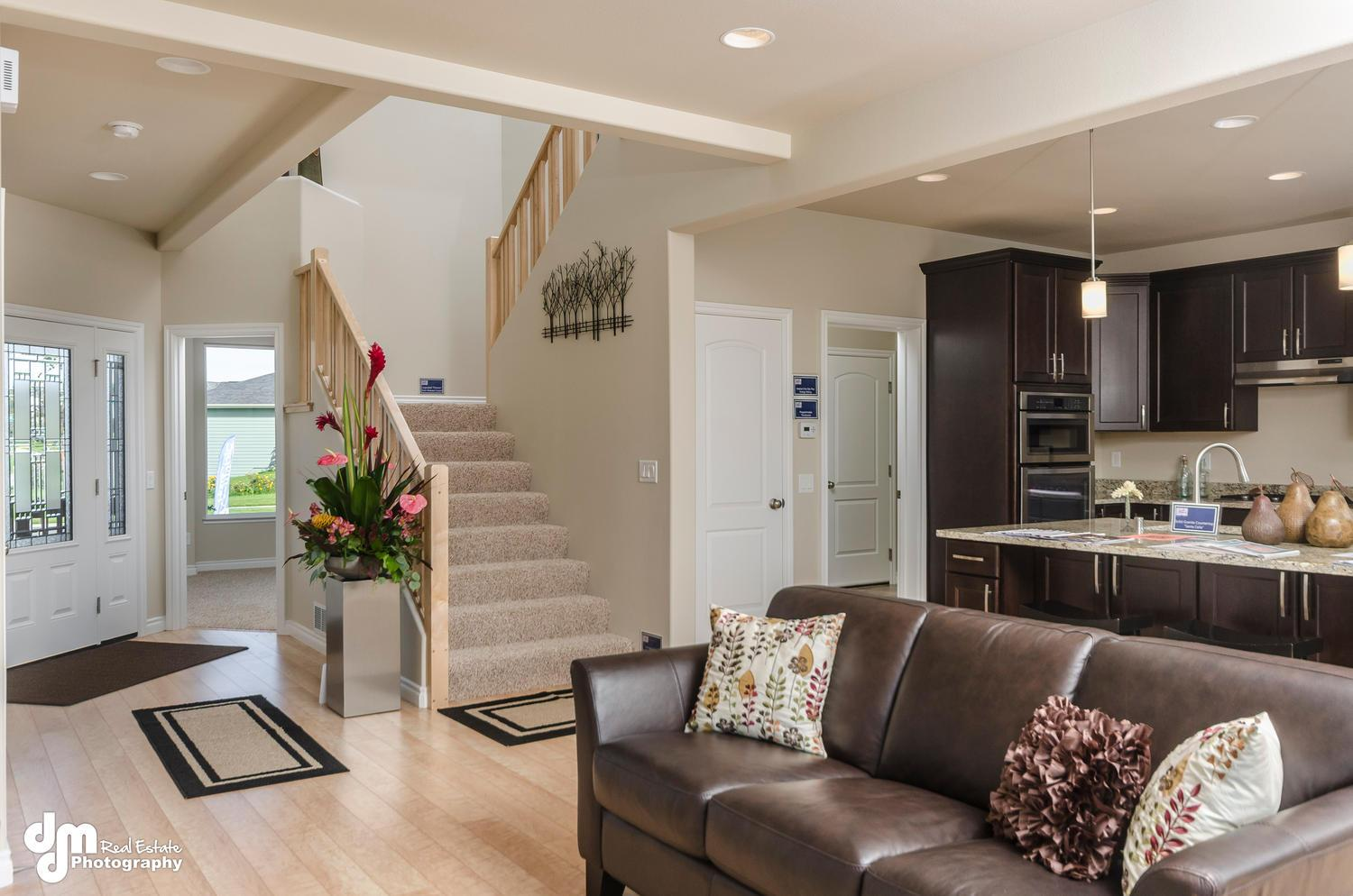 Living Area featured in the St Elias 2335 By Spinell Homes in Anchorage, AK