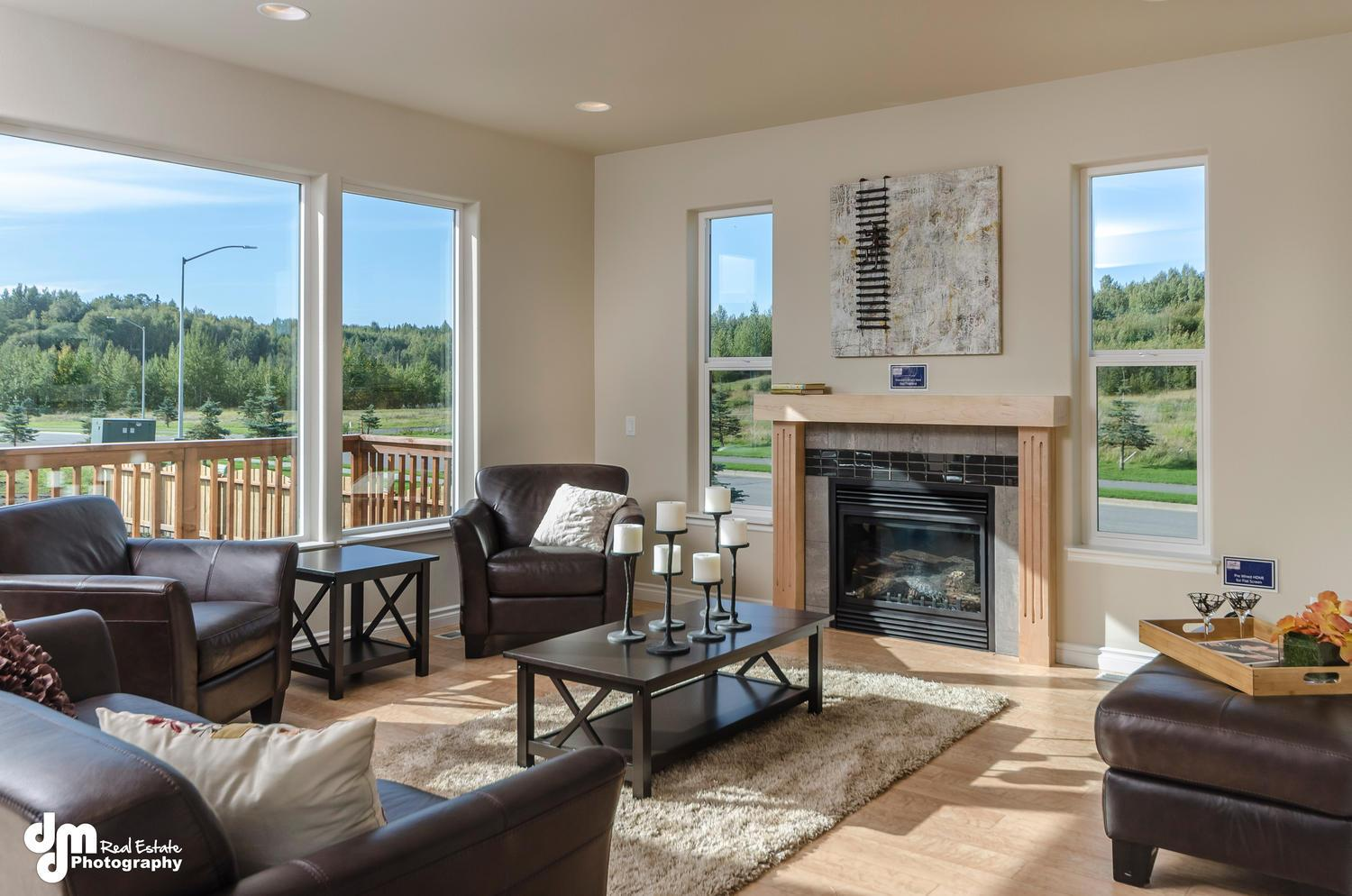 Living Area featured in the St Elias X 2335 By Spinell Homes in Anchorage, AK