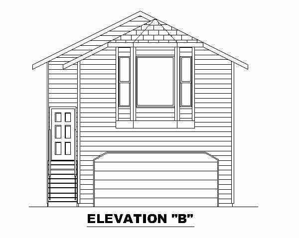 Front Elevation B
