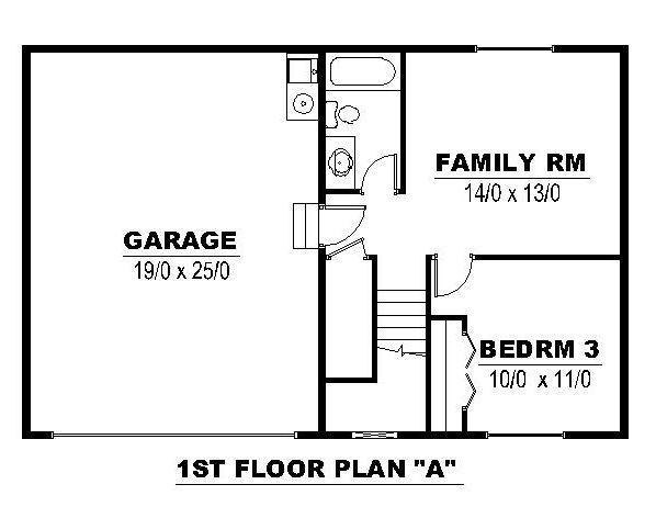 1st Floor A
