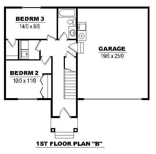 1st Floor B