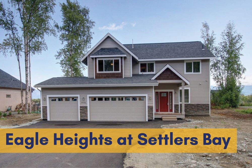 Eagle heights at settlers bay in wasilla ak by spinell homes for Home builders wasilla ak