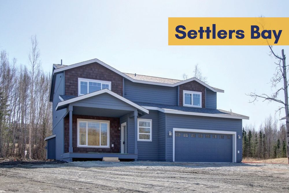 Settlers bay in wasilla ak by spinell homes for Home builders in wasilla ak