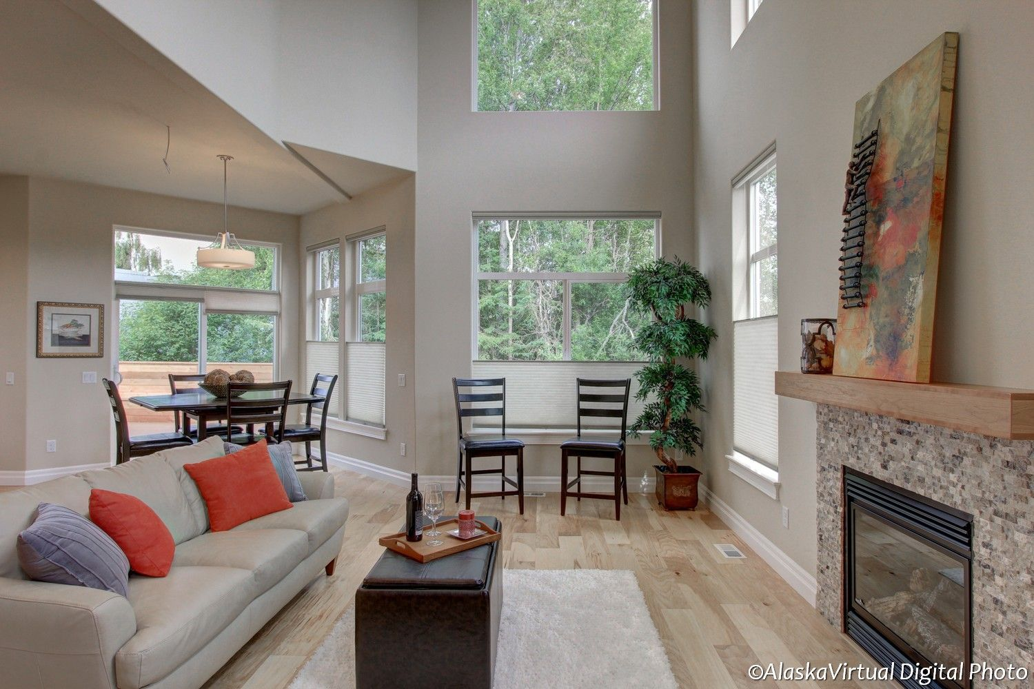Living Area featured in the Blueberry 2868 By Spinell Homes in Anchorage, AK