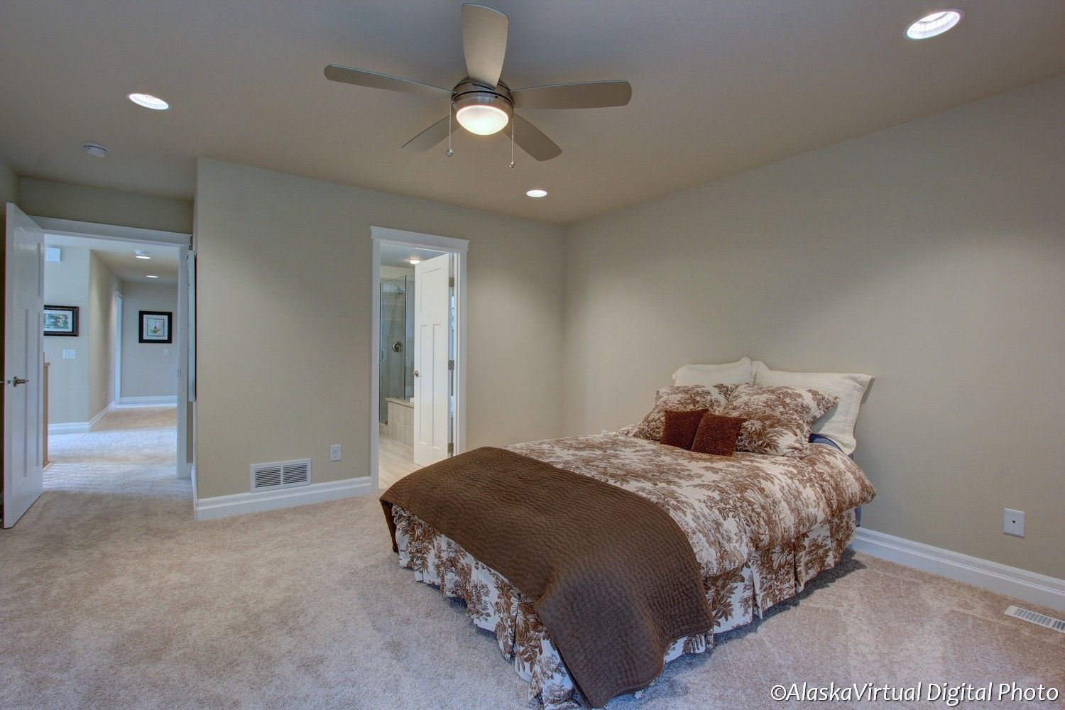 Bedroom featured in the Blueberry 2868 By Spinell Homes in Anchorage, AK