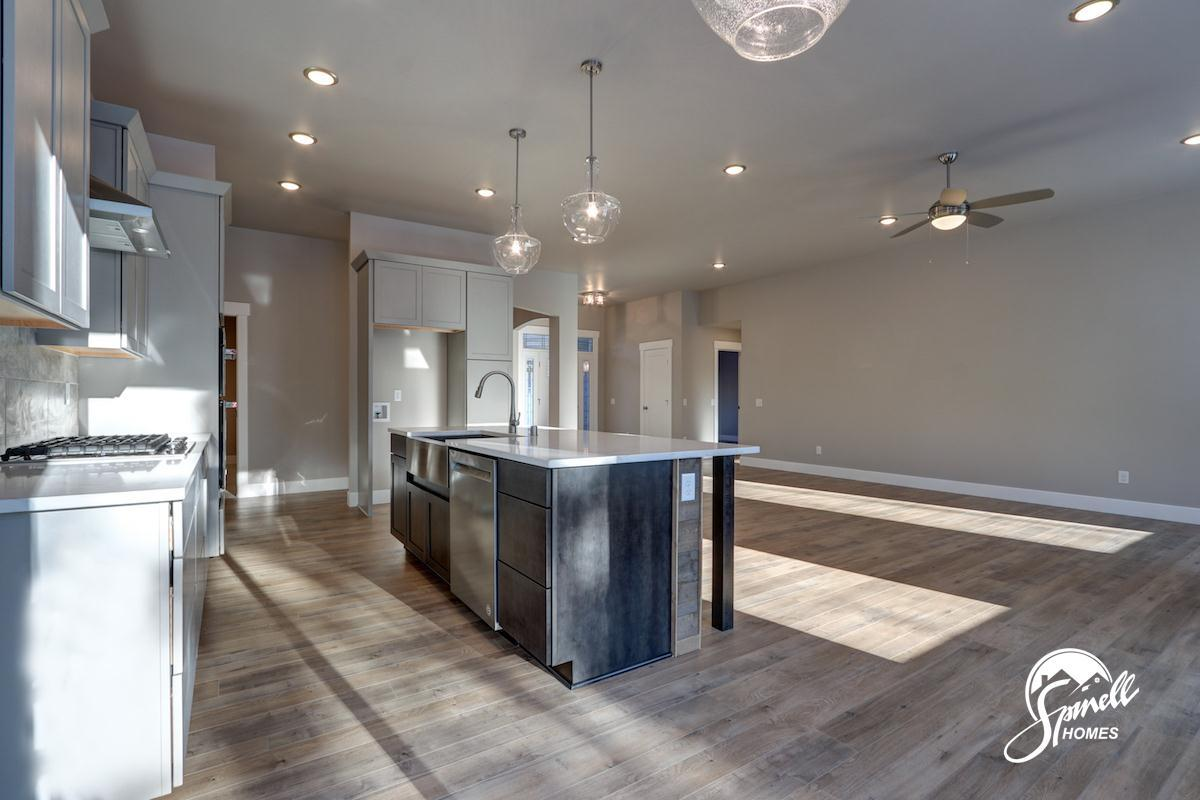 Kitchen featured in the Sagebrush 1834 By Spinell Homes in Anchorage, AK