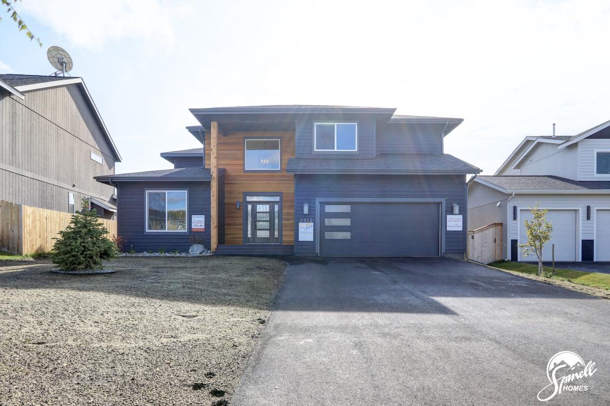 Exterior featured in the Wrangell 2481 By Spinell Homes in Anchorage, AK